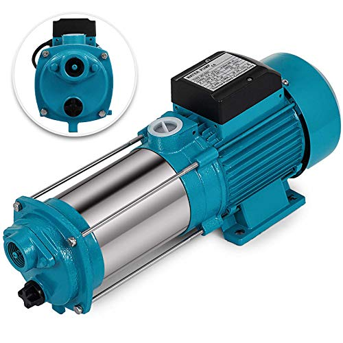 Bisujerro 1300W/1100W Bomba Centrífuga Bomba de Agua Eléctrica Bomba Centrífuga Eléctrica JET Centrífuga para Casa, Jardín (1300W)