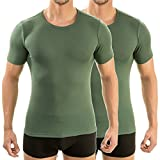 HERMKO 3840 2er Pack kurzarm Shirt
