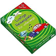 Lustige Reisespiele für unterwegs (50 Karten)
