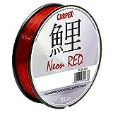 Robinson Angelschnur Karpfenschnur CARPEX Neon Red 300/600m Feederschnur Monofile stark!...