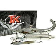 Turbo Kit Carreras 50cromo Tubo de escape para Yamaha DT 50, TZR 50