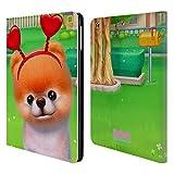 Head Case Designs Offizielle Boo-The World's Cutest Dog Herzen Charakter Kunst Brieftasche Handyhülle aus Leder für iPad Air (2013)