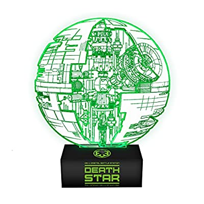 PALADONE - Lampe d'ambiance Illusion Etoile de la Mort Star Wars Rogue One