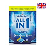 Astonish All in 1 Lemon Fresh Dishwasher 42 Tablets for Outstanding Cleaning (A-2180)