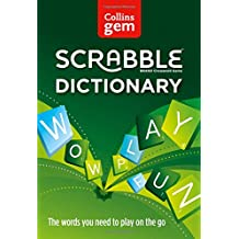Collins Gem Scrabble Dictionary: The words you need to play on the go