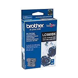 Brother Original Lc980bk Black Ink Cartridge Lc980bk