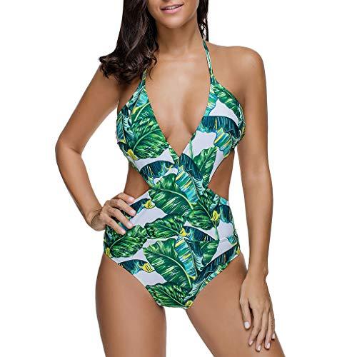 l'atteggiamento migliore d984d 3062a Darringls Costumi da Bagno Donna Intero Costume Mare da Donna Trikini  Costume 2019 Costume Intero Push up Bikini Estraibile per Donna Regolabile  ...