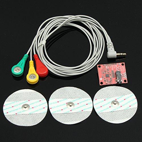 Bluelover Single Führn Ad8232 Pulse Pulsmesser Ecg Kit Modul Für Arduino