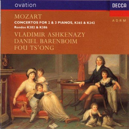 Concertos For 2 & 3 Pianos K 365 & K 242;Rondos K 382 & K 386