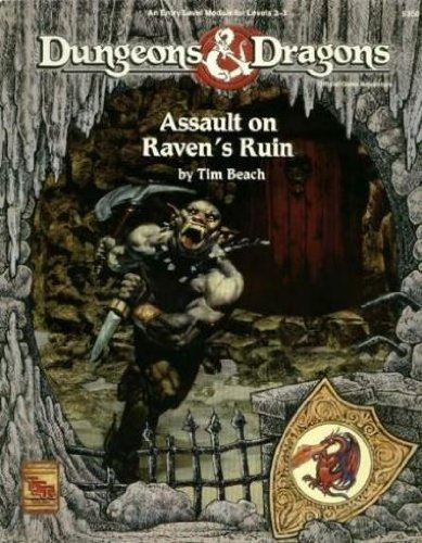 Assault on Raven's Ruin (Dungeons & Dragons) by Tim Beach (1992-05-02)