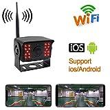 DishyKooker - Cámara de visión Trasera para autobús, Caravana, camión, 12 V CC, 24 V WiFi