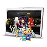 SO-buts Android 6.0 3G Viererkabel Tablet, 10.1-Zoll mit WiFi-Tablet, Die maximale Kapazität beträgt 32 GB, HD-Display Dual-Kamera WiFi Bluetooth, (Silber)