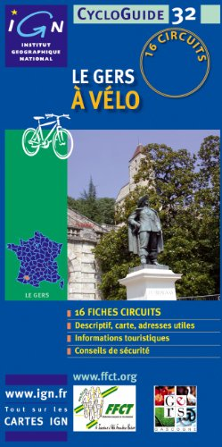Gers a Velo Cycloguide 16 Circuits: Igncyclop.32