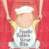 Foodie Babies Wear Bibs (Urban Babies Wear Black)