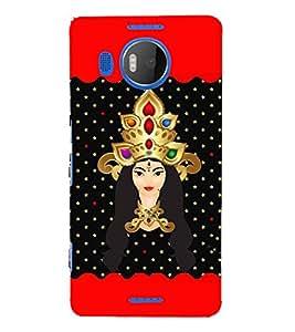 Saadhvi 3D Hard Polycarbonate Designer Back Case Cover for Nokia Lumia 950 XL :: Microsoft Lumia 950 XL