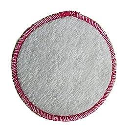 ImseVimse Lot de 10 disques de coton démaquillage lavables