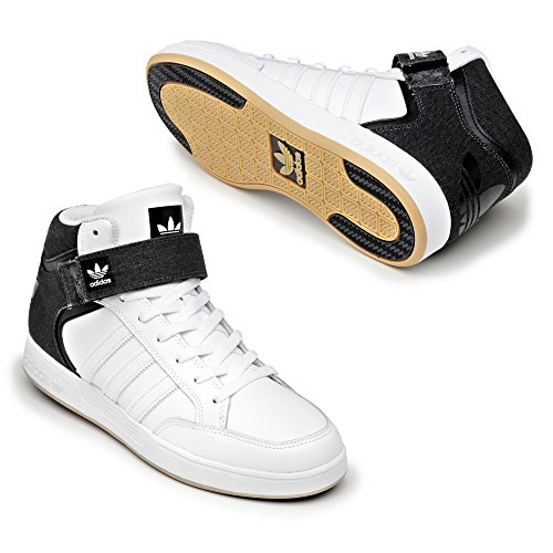 adidas Varial Mid, Baskets Basses Homme Blanc