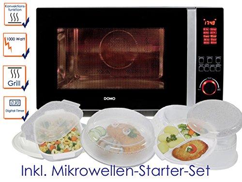 Micro-ondes combiné avec grill et convection, 42L, avec 5pièces Kit de démarrage