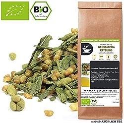 100 g Genmaicha Ketsuro Premium - Grün-Tee aus Japan - Im Aromadichten & Wiederverschließbaren Beutel - Natürlich Tee by Naturteil