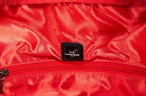 Sansibar Arnon B-934 AN 01, Damen Shopper 39x38x17 cm (B x H x T) Rot (Tomato)