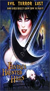 Elvira's Haunted Hills [VHS] [Import USA]