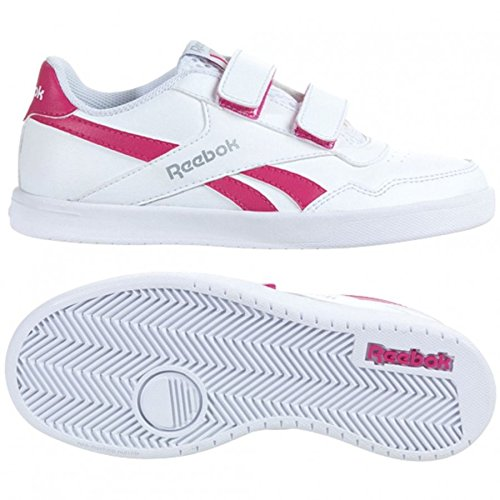 Reebok Boy's Royal Dekor Blanco / Rosa