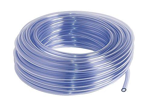 SIBO 25 Meter Klarer PVC Schlauch, Lebensmittelecht, Luftschlauch Ø 25x31mm (Innen/Außen), Länge Meter:25