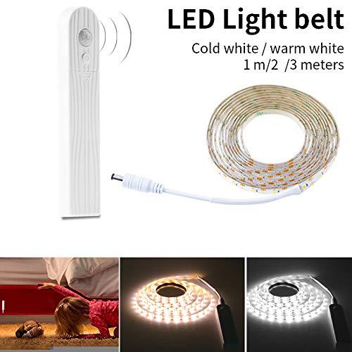 MENGZHEN LED-Lichtband, warmes Weiß, dimmbar, mit Magnetstreifen