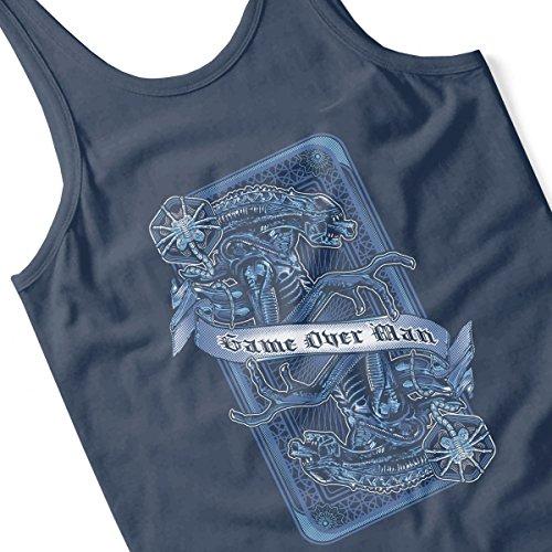 Aliens Game Over Man Women's Vest Navy blue