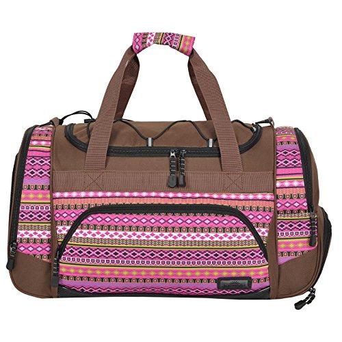 Die durchdachte Sporttasche KEANU Fitness Yoga Sauna mit XL Getränkenetz :: grosse multifunktionale Tasche für Gym Sport Sauna Reise Wellness :: Reisetasche (Indian Lilac)