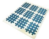 180x Cross Kindmax Blau 21mm x 27mm Kinesiologie Sporttape