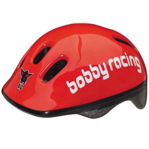 Unbekannt Bobby Racing Helmet, verstellbarer Sicherheitshelm, Klickverschluß - Big Bobby Racing Helmet Sicherheits Schutz Kinder Fahrrad Helm Bobby Car Zubehör