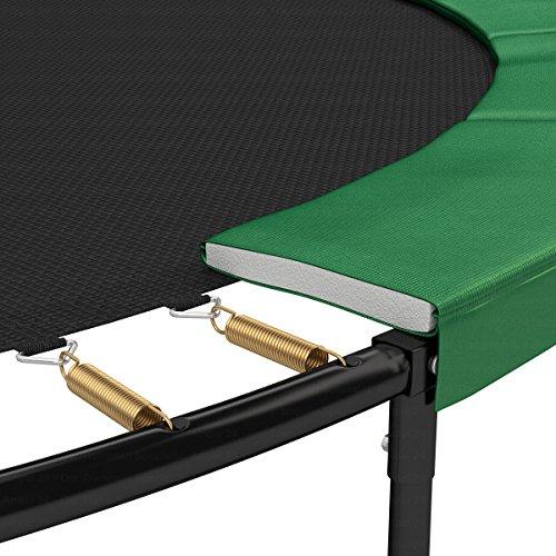Ampel 24 Trampolin Randabdeckung Deluxe | max. Schutz durch doppelte Dicke | passend für Ø 180 – 185 cm | reißfest | 100% UV-beständig | grün - 3