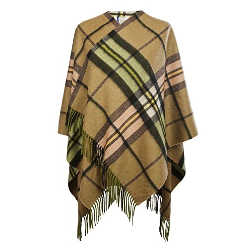 Edinburgh Cashmere - Poncho -  donna SHERWOOD GOLD B