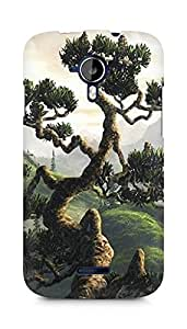 Amez designer printed 3d premium high quality back case cover for Micromax Canvas Magnus A117 (Cool Tree Scenery)