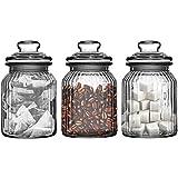 Set Of Three Storage Jars...