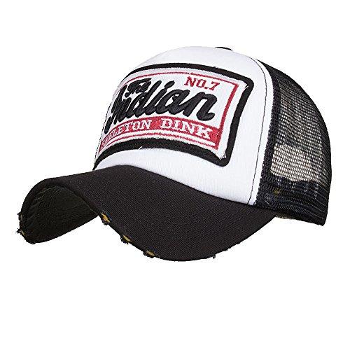 Topgrowth Cappello da Baseball Unisex Cappelli Rete Traspirante Estivo per Sport Hip Hop Outdoor