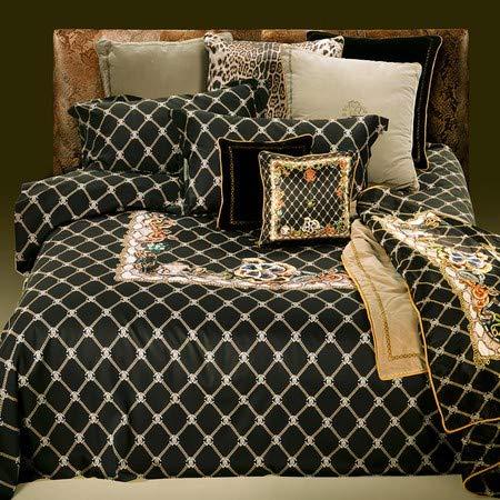 Roberto Cavalli Spider Bettbezug für Doppelbett, 250 x 205 cm, Baumwolle - Cavalli Bettwäsche