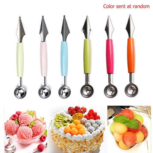 Fruchtmesser-Schaufel-Werkzeug, 1pcs 2in1...