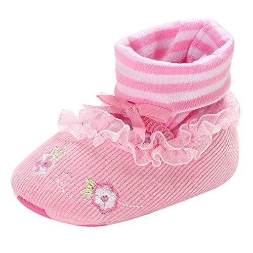 es Baby Jungen Mädchen Cartoon Krippe Winter Stiefel Prewalker warme Schuhe Baby schönen Herbst Winter warme weiche Sohle Schneeschuhe weiche Krippe Schuhkleinkind Stiefel ()