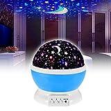 EMOTREE LED Projektor Sternenhimmel Nachtlicht Kinder Baby Geschenk Einschlafhilfe Nachtlampe