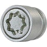 Farad 1-AD1/E StarLock 1CH Lot de 4 antivols de roues de voiture avec serrage à écrou, et 1 clé