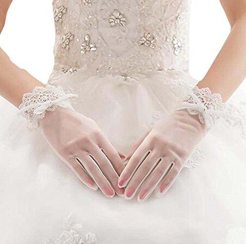 Lace Braut Handschuhe Hochzeit Zubehör Elegante Handschuhe für Frauen