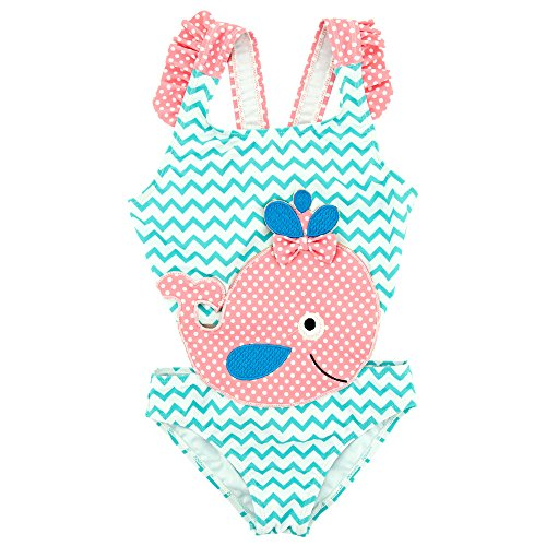 Girl Kostüm 2t - Mebeauty Kinder Mädchen Badeanzug Little Girls Kids Cute einteiliger Bikini Badeanzug Prinzessin Bademode Netter bunter Schwimmen-Kostüm-Badeanzug (Größe : 2T)