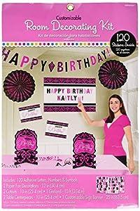 Amscan-Kit de decoración 241145personalizable de cumpleaños