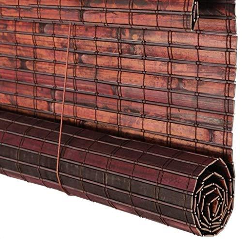 ensterladen Roll Up für Fenster Jalousie Vintage Antiseptische Balkon Abgeschnitten Outdoor wasserdichte Schatten Vorhang (Color : B, Size : 90X180cm) ()