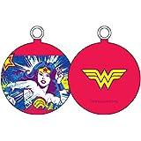 UNIVERS DC Wonder Woman visage–Boule de Noël, blanc