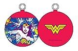 Universo DC Wonder Woman Rostro Bola de Navidad, Blanco, 8x8x8