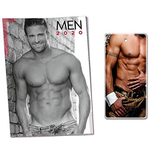 Pin Up Kalender 2020 Men & Duftbaum Chippendales New Car Sexy Men