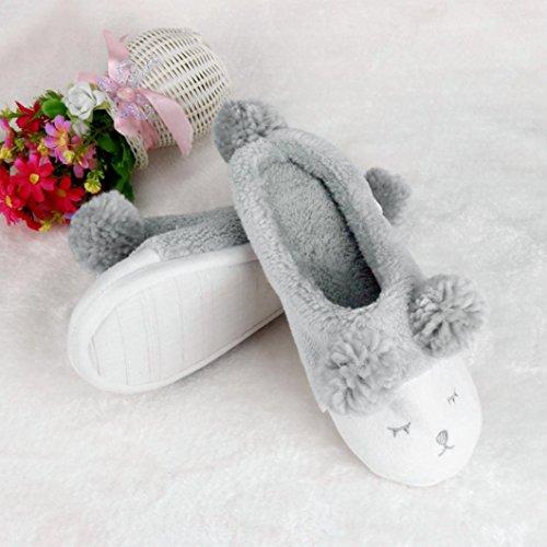 Clode®  Clode-bf-001042, Chaussons pour femme rose rose vif 36 EU Gris